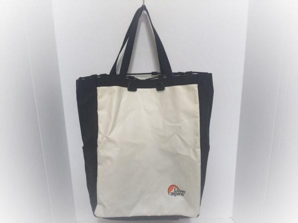 Lowe Alpine(ロウアルパイン) リュックサック 白×黒 PVC(塩化ビニール)×ナイロン