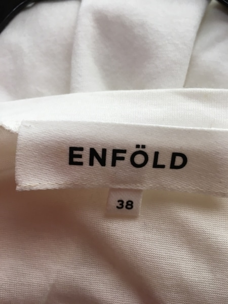 エンフォルド カットソー サイズ38 M レディース美品  アイボリー ドルマンスリーブ