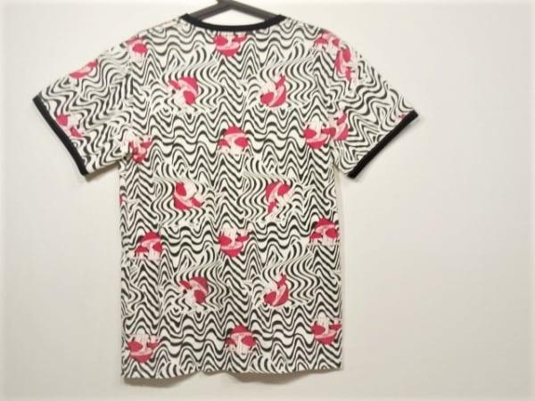 ALDIES(アールディーズ) 半袖Tシャツ サイズS メンズ 黒×白×マルチ キノコ