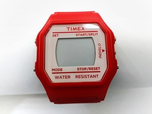 TIMEX(タイメックス) 腕時計美品  CR2016CELL ボーイズ 白