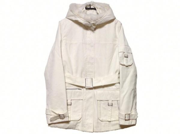 epolene(エポレーヌ) コート サイズ38 M レディース 白 冬物/ファー