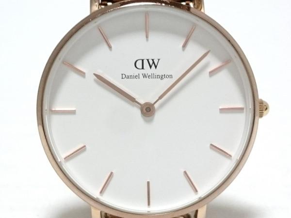 ダニエルウェリントン 腕時計美品  クラシック B32R1 ボーイズ SS 白