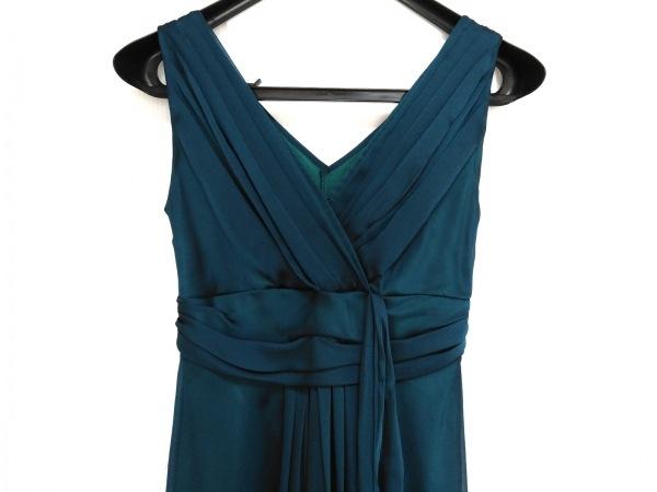 La Defence(ラデファンス) ドレス サイズ9 M レディース ブルー リボン