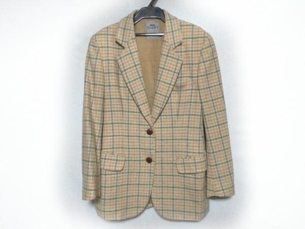 SEVENTY(セブンティ) ジャケット サイズ40 M レディース美品  アイボリー×マルチ