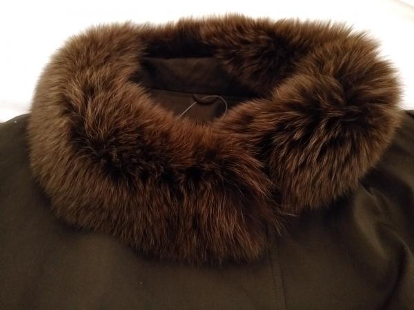 ROTINY(ロティニー) コート サイズ9 M レディース美品  カーキ ファー/冬物