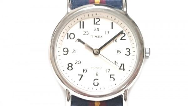 TIMEX(タイメックス) 腕時計美品  - ボーイズ 白