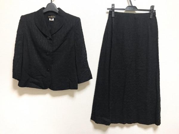 TOKYOIGIN(トウキョウイギン) スカートスーツ サイズ9 M レディース美品  黒 肩パッド