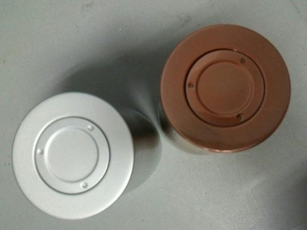 プルミエール 食器新品同様  ブロンド×シルバー ペアメタルサーモタンブラー