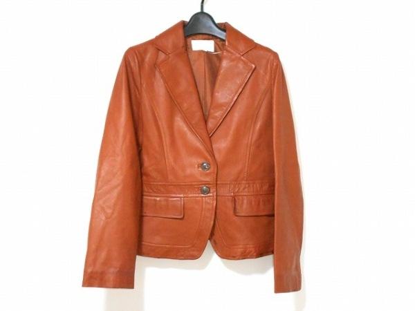 LESTERA(レステラ) ジャケット サイズ40 M レディース ブラウン レザー