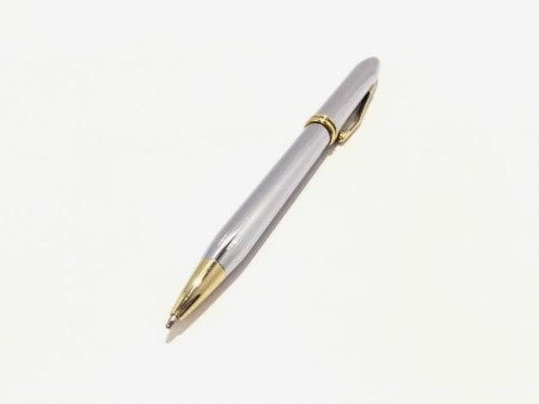 CROSS(クロス.) ボールペン美品  シルバー×ゴールド インクなし 金属素材