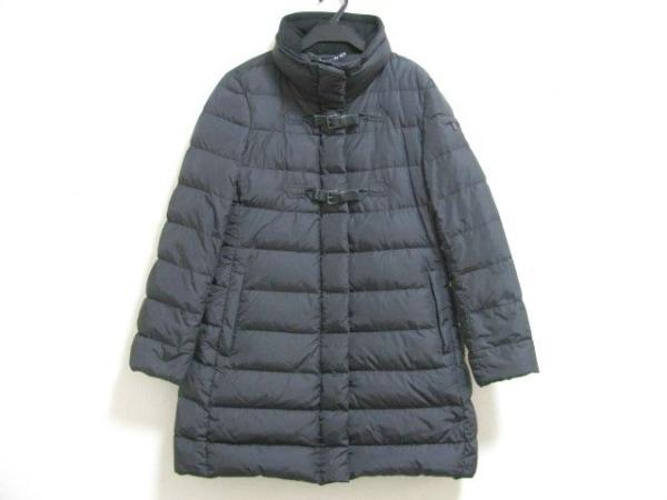 SEVENTY(セブンティ) ダウンコート サイズ44 L レディース 黒 冬物