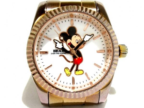 OVER THE STRIPES(オーバーザストライプス) 腕時計 - レディース RAYBEAMS シルバー
