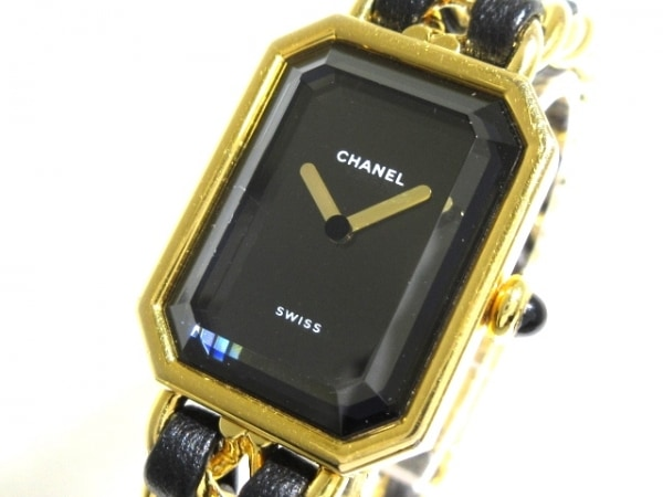 CHANEL(シャネル) 腕時計 プルミエール H0001 レディース 黒