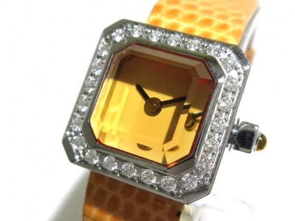 CORUM(コルム) 腕時計 シュガーキューブ 137.428.47/0124 EB34 レディース オレンジ