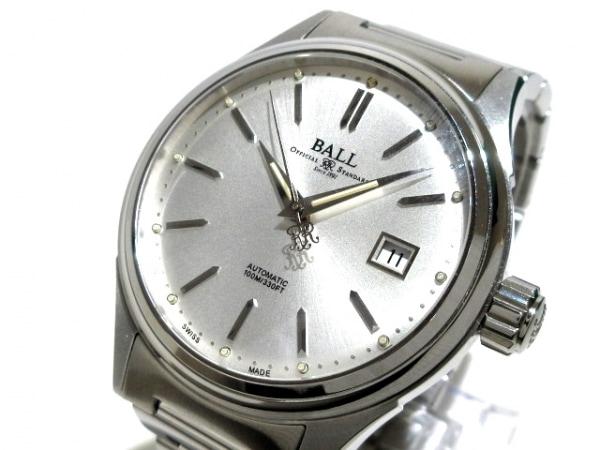 ボールウォッチ 腕時計美品  ストークマンビクトリー NM2098C-SJ-WH メンズ シルバー