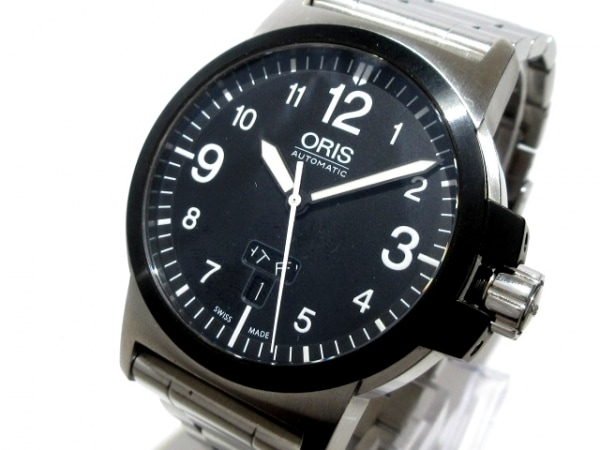 ORIS(オリス) 腕時計 BC3 アドバンスド デイデイト 0173576414364-0782203 メンズ 黒