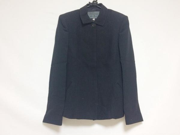 VERSUS(ヴェルサス) ジャケット サイズ42 L レディース 黒 肩パッド