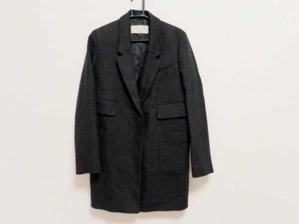 MAURO GRIFONI(マウログリフォーニ) コート サイズ40 M レディース美品  黒 春・秋物