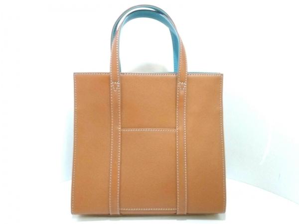 大峡製鞄(オオバセイホウ) トートバッグ ブラウン レザー