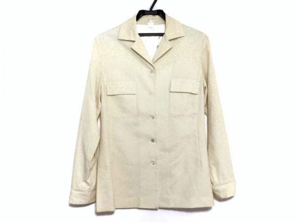 hLam(ラム) ジャケット サイズ42 L レディース アイボリー
