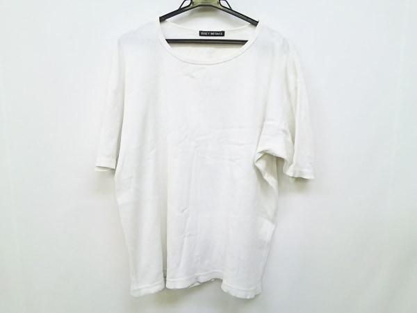 ISSEYMIYAKE(イッセイミヤケ) 長袖カットソー サイズ3 L メンズ 白
