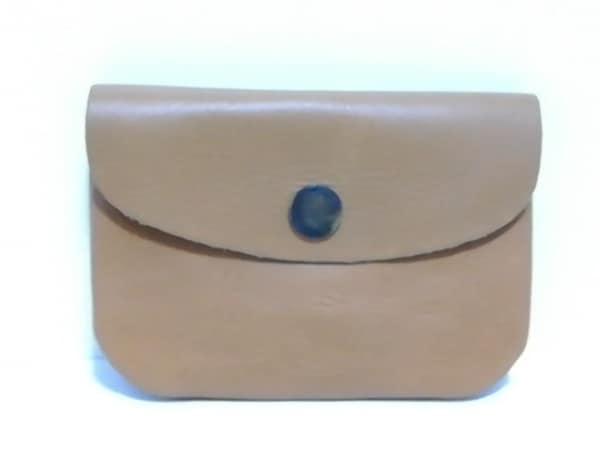 Paquet(パケ) 財布 ライトブラウン レザー