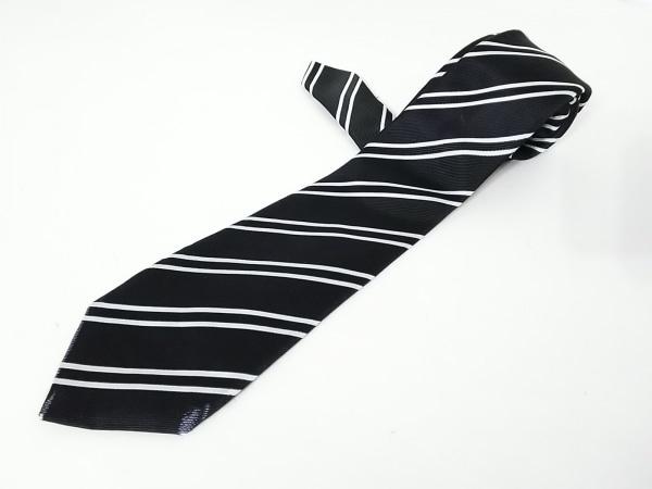 インターナショナルギャラリービームス ネクタイ メンズ 黒×白