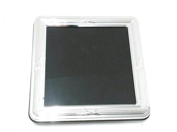 Christofle(クリストフル) 小物 シルバー×クリア 写真立て 金属素材×ガラス