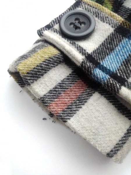 ビービーダコタ コート サイズS レディース 白×黒×マルチ 冬物/チェック柄