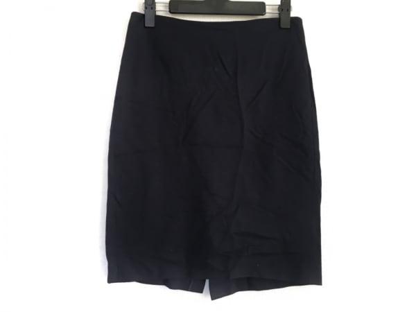 theory(セオリー) スカート サイズ0 XS レディース ダークネイビー
