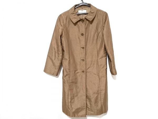 BALENCIAGA BB(バレンシアガライセンス) コート サイズ40 M レディース ブラウン 冬物