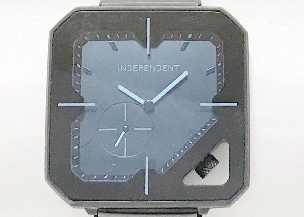 INDEPENDENT(インディペンデント) 腕時計 1045-S096138 メンズ 黒