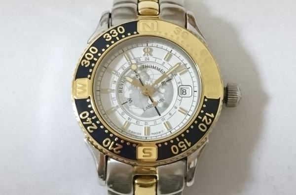 REVUE THOMMEN(レビュートーメン) 腕時計 ランドマーク 2817001 レディース 白