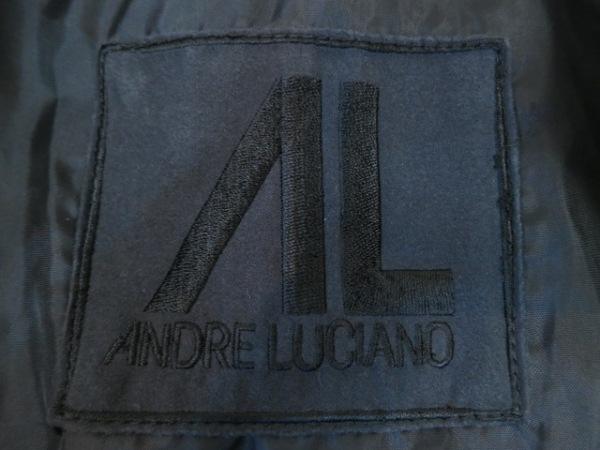 ANDRE LUCIANO(アンドレルチアーノ) コート レディース美品  黒 冬物/ジップアップ