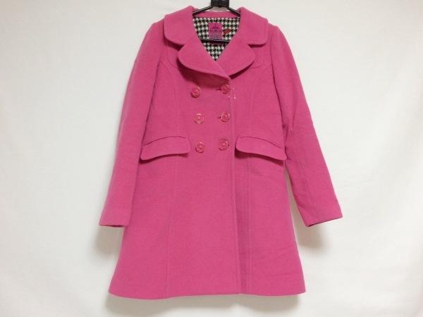 DOLLY GIRL(ドーリーガール) コート サイズ1 S レディース ピンク 冬物