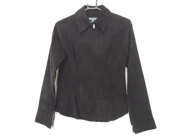 Polo Jeans(ポロジーンズ) ブルゾン サイズM レディース 黒 コーデュロイ/春・秋物