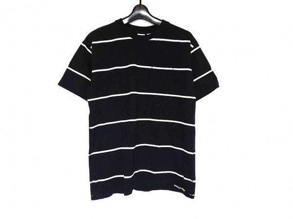 ワークノットワーク 半袖Tシャツ サイズM メンズ美品  ダークネイビー×アイボリー
