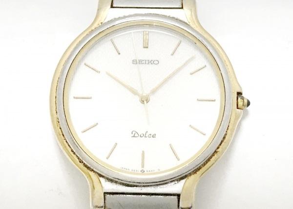 SEIKO(セイコー) 腕時計 ドルチェ 5E31-6A30 レディース 白