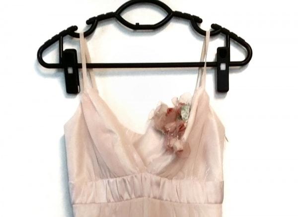 La Defence(ラデファンス) ドレス レディース美品  ピンクベージュ