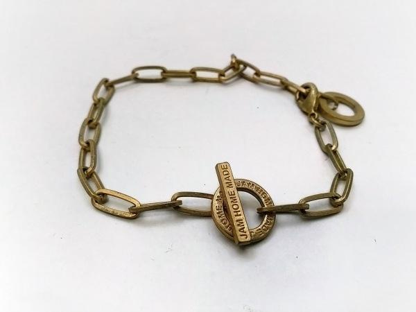 JAM HOME MADE(ジャムホームメイド) ブレスレット 金属素材 ゴールド