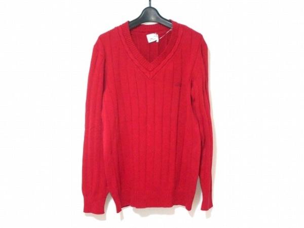 Lacoste(ラコステ) 長袖セーター メンズ レッド