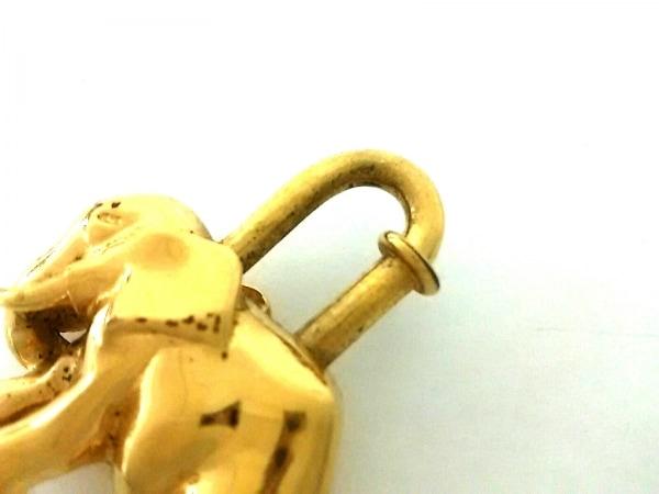 HERMES(エルメス) 小物 カデナ ゴールド ゾウ 金属素材