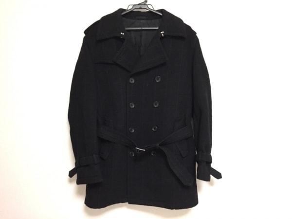 VISARUNO(ビサルノ) コート サイズM メンズ美品  黒 冬物