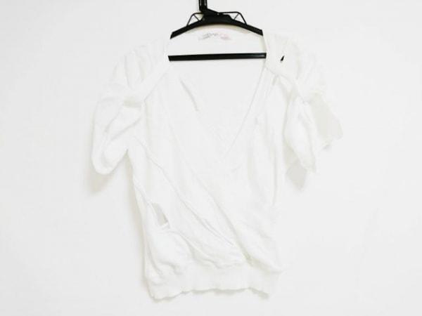 ウンガロフューシャ 半袖セーター サイズ36(F) レディース アイボリー