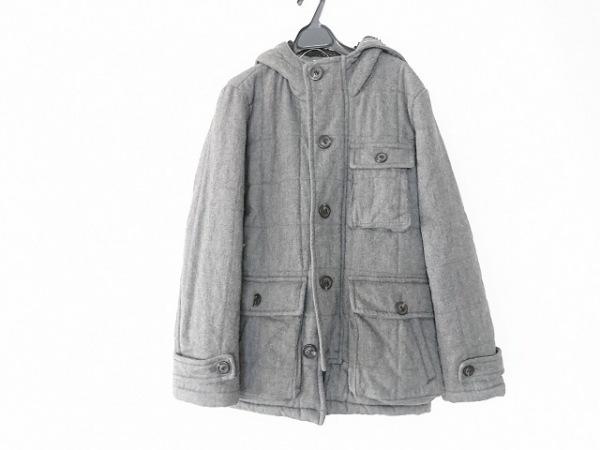 カスタムカルチャー コート サイズ2 M メンズ グレー 冬物/ジップアップ