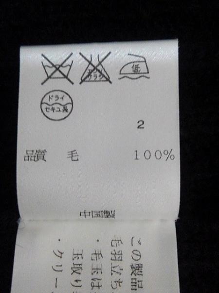 DKNY JEANS(ダナキャラン) コート サイズS レディース 黒 ニット/ショート丈/冬物