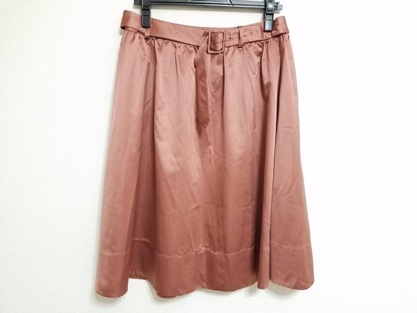 theory(セオリー) スカート サイズ2 S レディース ダークブラウン