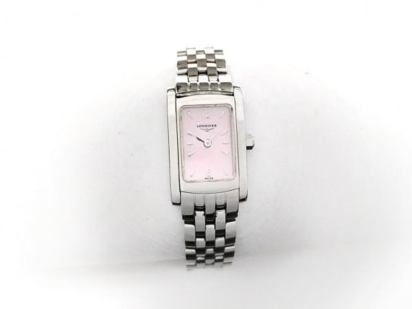 ロンジン 腕時計 ドルチェヴィータ L5.158.4 レディース シェル文字盤 ピンクシェル