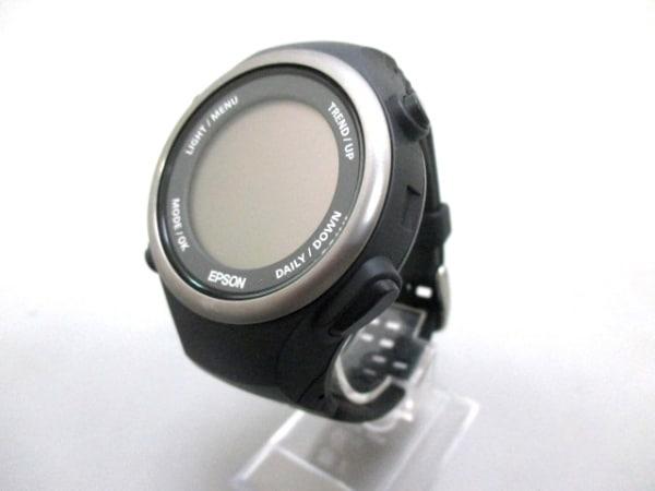 EPSON(エプソン) 腕時計美品  PULSENSE(パルセンス) PS-600 ボーイズ グレー