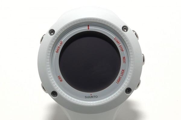 SUUNTO(スント) 腕時計美品  AMBIT3 RUN WHITE OW143/SS021258000 ボーイズ グレー